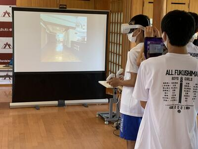 国立科学博物館VR体験(中学生)